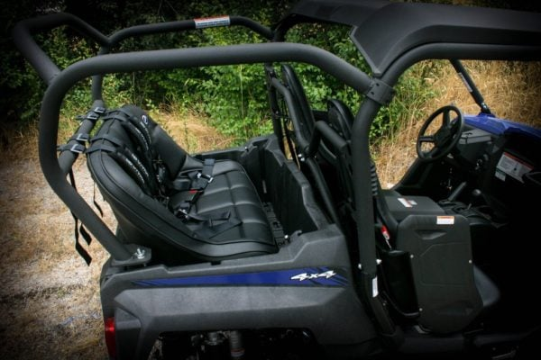 """REAR CAGE WITH 36"""""""" BENCH SEAT AND 2 HARNESSES YAMAHA WOLVERINE-16750"""