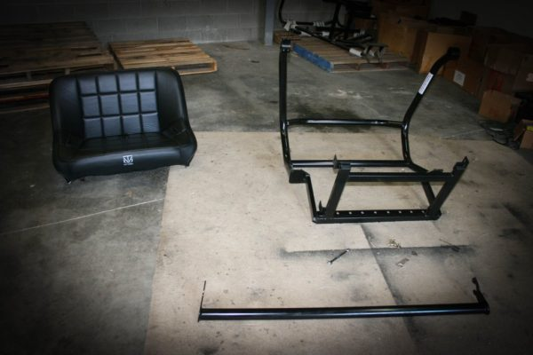 """REAR CAGE WITH 36"""""""" BENCH SEAT AND 2 HARNESSES POLARIS GENERAL-16734"""