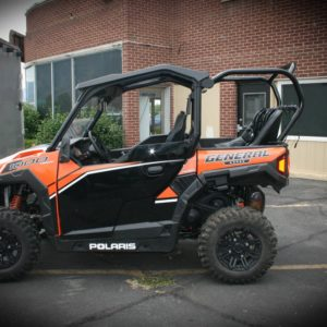 """REAR CAGE WITH 36"""""""" BENCH SEAT AND 2 HARNESSES POLARIS GENERAL-0"""