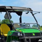 SUPER ATV FLIP WINDSHIELD SCRATCH RESISTANT JOHN DEERE GATOR -17099