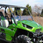 SUPER ATV HALF WINDSHIELD SCRATCH RESISTANT KAWASAKI TERYX 4 750/800 - DARK TINT-17111