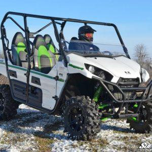 SUPER ATV HALF WINDSHIELD SCRATCH RESISTANT KAWASAKI TERYX 4 750/800-0