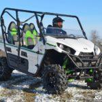 SUPER ATV HALF WINDSHIELD SCRATCH RESISTANT KAWASAKI TERYX 4 750/800 - DARK TINT-17112
