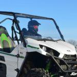 SUPER ATV FULL WINDSHIELD SCRATCH RESISTANT KAWASAKI TERYX 750/800 2016+-0