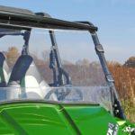 SUPER ATV FULL WINDSHIELD SCRATCH RESISTANT KAWASAKI TERYX 750/800 2014-2015-17134