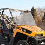 SUPER ATV FULL WINDSHIELD SCRATCH RESISTANT KAWASAKI TERYX 750 2010-2013-17127
