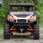 SUPER ATV HALF WINDSHIELD POLARIS GENERAL - LIGHT TINT-17176