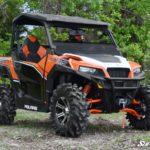 SUPER ATV HALF WINDSHIELD SCRATCH RESISTANT - POLARIS GENERAL -CLEAR -17169