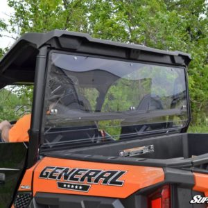 SUPER ATV REAR WINDSHIELD POLARIS GENERAL - CLEAR-0