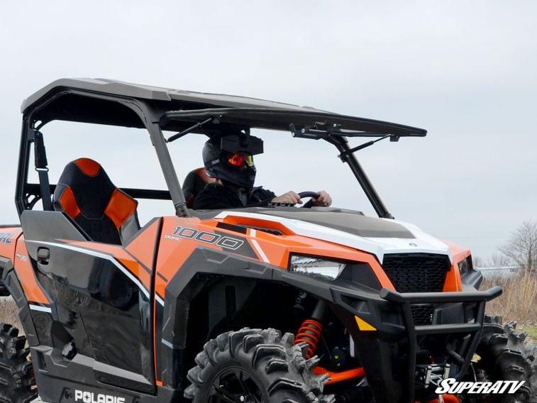 SUPER ATV FLIP WINDSHIELD SCRATCH RESISTANT POLARIS GENERAL -0
