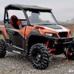 SUPER ATV FLIP WINDSHIELD SCRATCH RESISTANT POLARIS GENERAL -17148