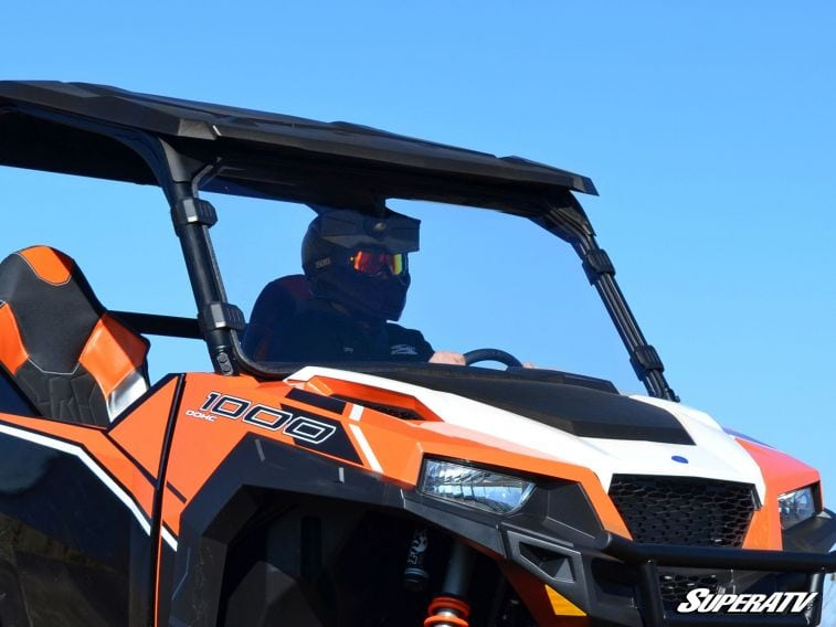 SUPER ATV FULL WINDSHIELD SCRATCH RESISTANT POLARIS GENERAL -0