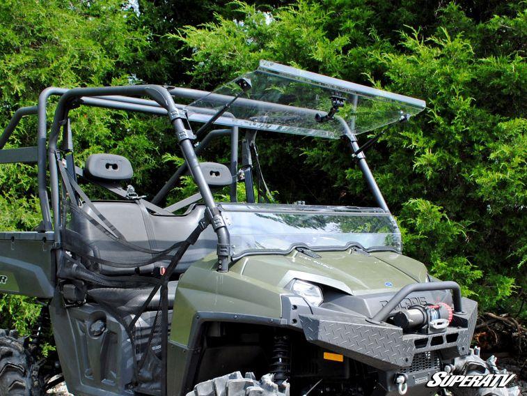 SUPER ATV FLIP WINDSHIELD SCRATCH RESISTANT POLARIS RANGER 570/800 -0
