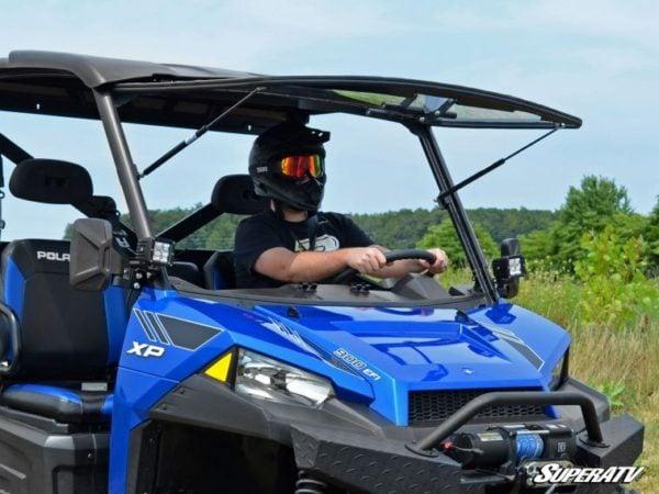 SUPER ATV FLIP WINDSHIELD SCRATCH RESISTANT POLARIS RANGER 570/900 -17154