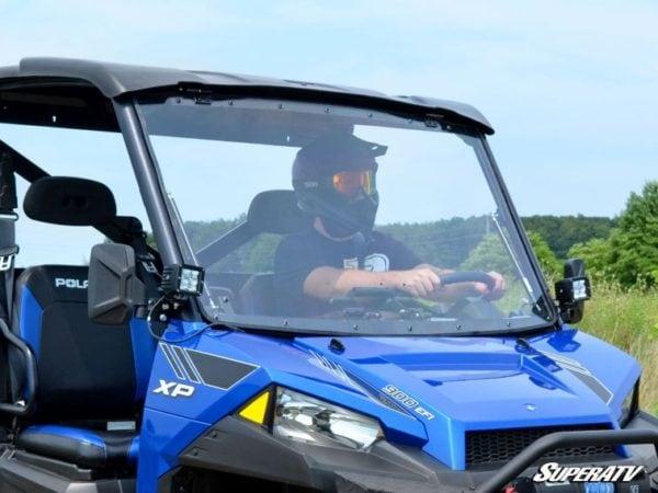 SUPER ATV FLIP WINDSHIELD SCRATCH RESISTANT POLARIS RANGER 570/900 -0