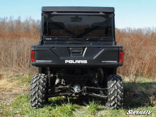 SUPER ATV REAR WINDSHIELD POLARIS RANGER 570/900 FULL SIZE - CLEAR-17212