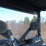 SUPER ATV REAR WINDSHIELD POLARIS RANGER 570/900 FULL SIZE - LIGHT TINT-17217