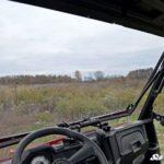 SUPER ATV FLIP WINDSHIELD SCRATCH RESISTANT POLARIS RANGER MIDSIZE -17157