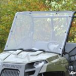 SUPER ATV FULL WINDSHIELD SCRATCH RESISTANT POLARIS RANGER MIDSIZE -0
