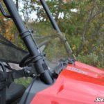 SUPER ATV HALF WINDSHIELD SCRATCH RESISTANT POLARIS RANGER MIDSIZE -17182