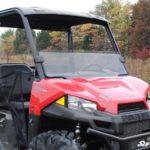 SUPER ATV HALF WINDSHIELD SCRATCH RESISTANT POLARIS RANGER MIDSIZE -17191