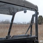 SUPER ATV REAR WINDSHIELD SCRATCH RESISTANT POLARIS RANGER MIDSIZE -17219