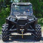 SUPER ATV VENTED WINDSHIELD SCRATCH RESISTANT POLARIS RZR 900/XP 1000 - CLEAR-0