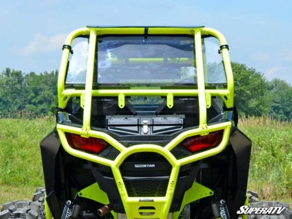 SUPER ATV REAR WINDSHIELD SCRATCH RESISTANT POLARIS RZR 900 -0