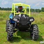 "SUPER ATV 1.5"""" FORWARD OFFSET A-ARMS LOWER POLARIS SPORTSMAN ACE - BLACK-16798"