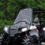SUPER ATV FULL WINDSHIELD SCRATCH RESISTANT POLARIS SPORTSMAN ACE -0