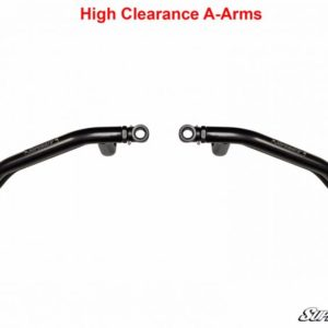 SUPER ATV HIGH CLEARANCE FRONT A-ARMS LOWER POLARIS SPORTSMAN XP/SCRAMBLER - RED-0