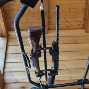 "QUICK-DRAW OVERHEAD GUN RACK FOR 42-45"""" ROOF POLARIS RANGER-0"