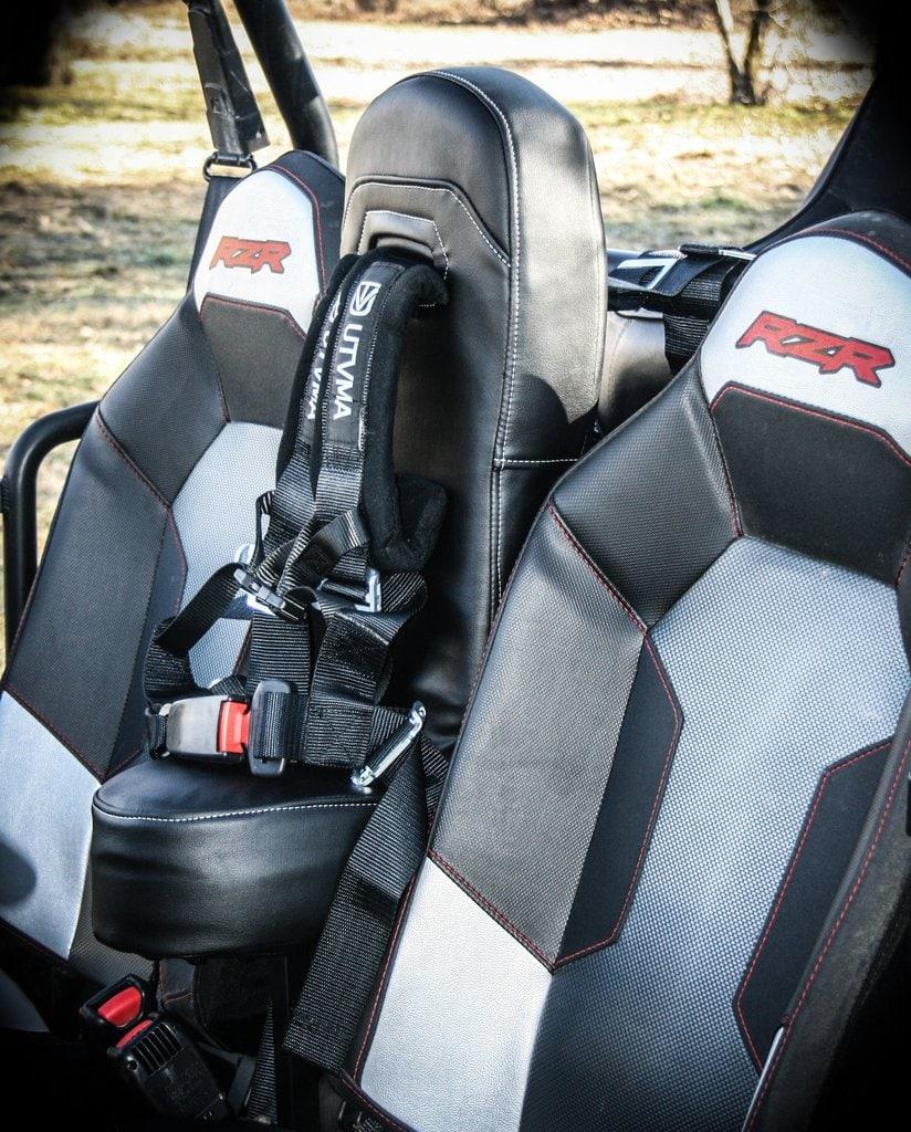 Centre Seat With 4 Point Harness Polaris Rzr Xp 1000 Utv