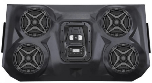 SSV WORKS BLUETOOTH STEREO SYSTEM 4 SPEAKER OVERHEAD POLARIS RZR XP 4 1000 -17296