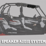 SSV WORKS BLUETOOTH STEREO SYSTEM 4 SPEAKER OVERHEAD POLARIS RZR XP 4 1000 -0