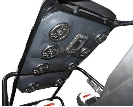 SSV WORKS 2 SPEAKER OVERHEAD REAR CAGE ADD ON POLARIS RZR XP 4 1000 -0