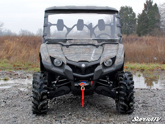 SUPER ATV FULL WINDSHIELD SCRATCH RESISTANT YAMAHA VIKING-0