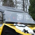 SUPER ATV FULL WINDSHIELD SCRATCH RESISTANT YAMAHA YXZ-0