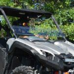 SUPER ATV HALF WINDSHIELD SCRATCH RESISTANT YAMAHA VIKING-17349