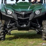 SUPER ATV HIGH CLEARANCE FRONT A-ARMS YAMAHA VIKING/WOLVERINE - BLACK-0