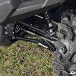 SUPER ATV HIGH CLEARANCE FRONT A-ARMS YAMAHA VIKING/WOLVERINE - BLACK-17009