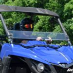SUPER ATV HALF WINDSHIELD YAMAHA WOLVERINE - TINTED-17356