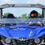 SUPER ATV HALF WINDSHIELD YAMAHA WOLVERINE-17353