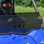 SUPER ATV HALF WINDSHIELD YAMAHA WOLVERINE-17354