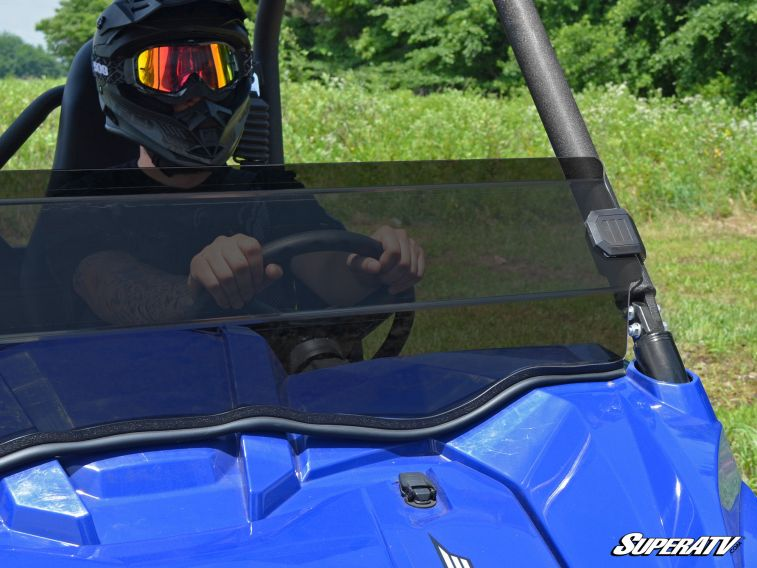 SUPER ATV HALF WINDSHIELD YAMAHA WOLVERINE - TINTED-0