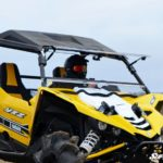 SUPER ATV FLIP WINDSHIELD SCRATCH RESISTANT YAMAHA YXZ-0