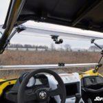 SUPER ATV FLIP WINDSHIELD SCRATCH RESISTANT YAMAHA YXZ-17344