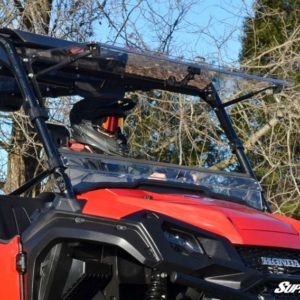 SUPER ATV FLIP WINDSHIELD SCRATCH RESISTANT HONDA PIONEER 1000 -0