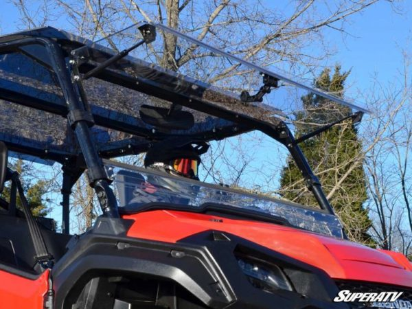 SUPER ATV FLIP WINDSHIELD SCRATCH RESISTANT HONDA PIONEER 1000 -17665