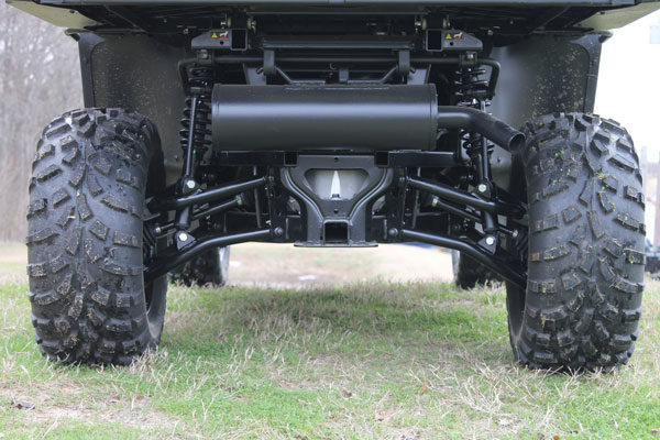 """HIGH LIFTER 2"""""""" LIFT KIT WITH A-ARMS TEXTRON STAMPEDE 900 - BLACK-17653"""